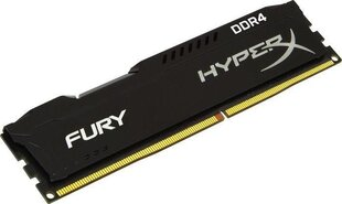 Operatiivmälu Kingston Fury Black 4 GB, DDR4, 288-pin DIMM, 2400 MHz, Memory voltage 1.2 V