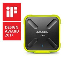 Väline kõvaketas Adata SSD SD700 512GB, 440/430MB/s, USB3.1, yellow