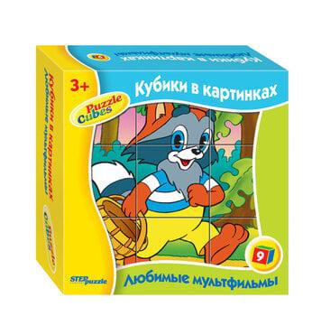Pusle-klotsid Step Puzzle 9, Väike Pesukaru hind ja info | Pusled | kaup24.ee