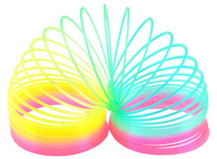 Шагающая пружинка - весенние цвета