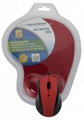 ESPERANZA проводная оптическая мышь EM125R USB + GEL коврик для мышки|