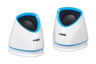 Kõlarid iBOX 2.0 MOLDE WHITE hind ja info | Kõlarid | kaup24.ee