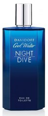 Tualettvesi Davidoff Cool Water Night Dive EDT meestele 200 ml