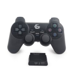 Mängupult Gembird Wireless dual vibration, PS2/PS3/PC JPD-WDV-01