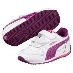 Puma спортивная обувь Fieldsprint L V PS, White-Dark Purple