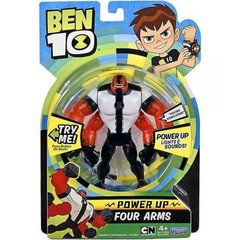 Tegelaskuju Power up Four Arms BEN10, 76603