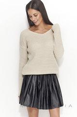 Naiste sviiter Numinou by Makadamia NUS27, helepruun