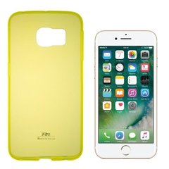 Kaitseümbris Roar Ultra Back Case 0.3 mm Silicone Case for Iphone 7 Yellow