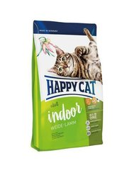 Kuivtoit kassidele Happy Cat Indoor lambalihaga, 1,4 kg​