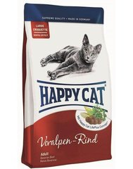 Kuivtoit kassidele Happy Cat Adult veiselihaga, 1,4 kg