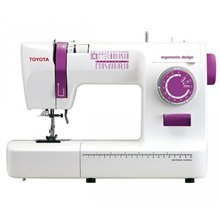 Sewing machine Toyota ECO26A White, Number of stitches 26, Automatic threading