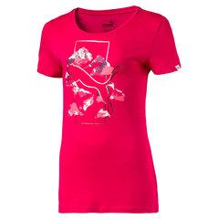 Футболка для девочек Puma Style Graphic Tee, Love Potion цена и информация | Одежда для девочек | kaup24.ee