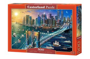Pusle Puzzle Castorland New York - Brooklyn Bridge, 500 osa