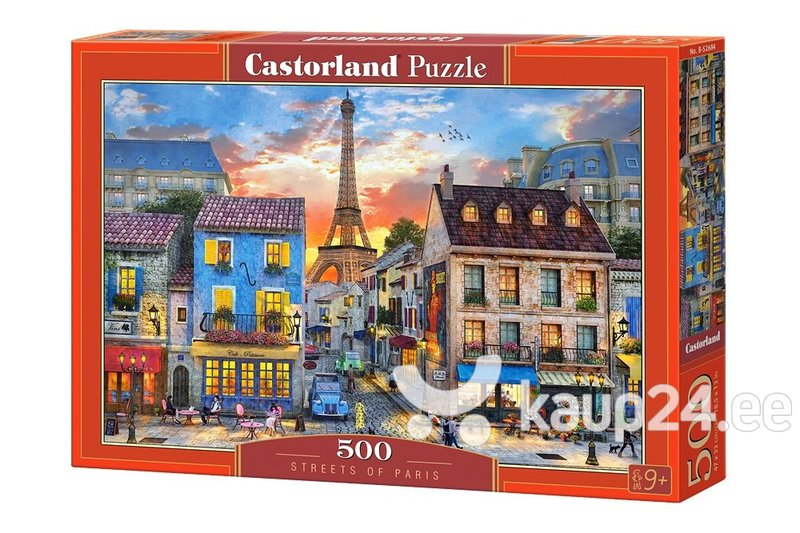 Пазл Castorland Streets of Paris, 500 шт.