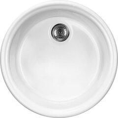 Кухонная раковина Deante Lusitano, белая цена и информация | Кухонная раковина Deante Lusitano, белая | kaup24.ee