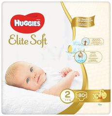 Mähkmed HUGGIES Elite Soft Mega, suurus 2, 80tk