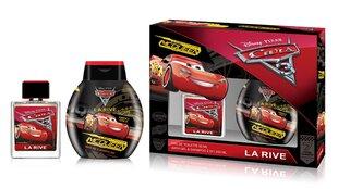 Komplekt La Rive Cars: EDT poistele 50 ml + dušigeel-šampoon 250 ml