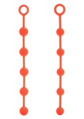 Anaalkuulid Posh O Beads Orange, 2 tk