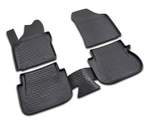 Kummimatid 3D VW Caddy 2007->, 4 pcs. /L65016