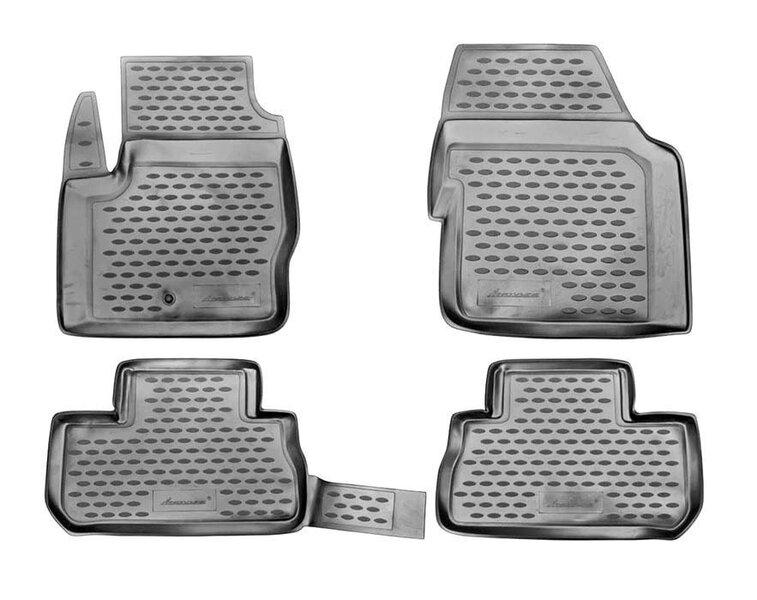 Kummimatid 3D LAND ROVER Freelander 2007-2012, 4 pcs. /L40019G /gray