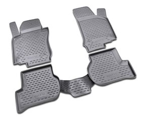 Kummimatid 3D VW Golf VI 2009-2012, 4 pcs. /L65024G /gray