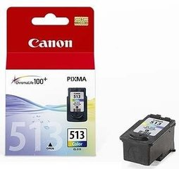 INK CARTRIDGE COLOR CL-513/2971B007 CANON hind ja info | Tindiprinteri kassetid | kaup24.ee