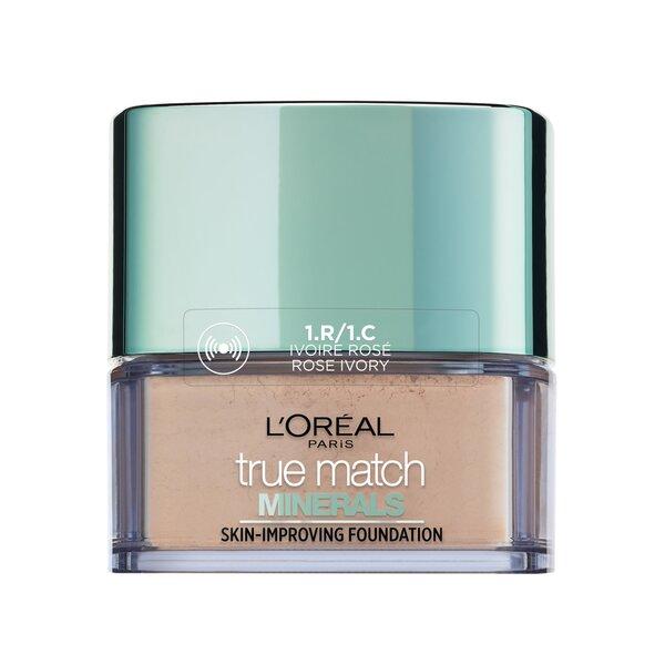 Jumestuspuuder mineraalidega L'oréal Paris True Match Minerals, 10 g