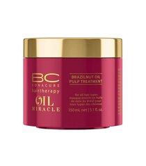 Toitev juuksemask Schwarzkopf Professional BC Bonacure Oil Miracle Brazilnut Oil 150 ml