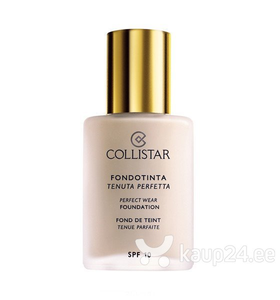 Jumestuskreem Collistar Perfect Wear SPF10 30 ml