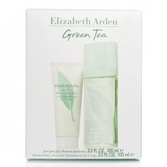 Komplekt Elizabeth Arden Green Tea: EDP naistele 100 ml + keha losjoon 100 ml