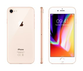 Mobiiltelefon Apple iPhone 8 256GB, Kuldne
