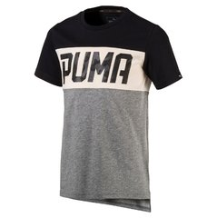 Puma футболка Style Tee, Medium Gray Heather