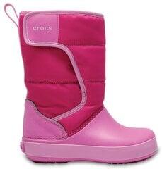 Tüdrukute talvesaapad Crocs™ LodgePoint Snow Boot, K CPk/PtPk