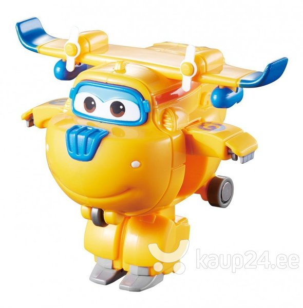 Lennuk-robot Donnie Super Wings, 6,5 cm hind