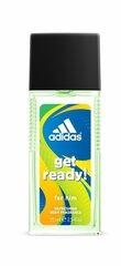 Spreideodorant Adidas Get Ready! meestele 75 ml