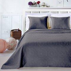 Kahepoolne voodikate + padi Elodie Steel, 170x210 cm