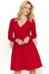 Naiste kleit Makadamia M374, punane