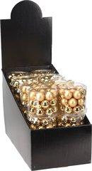 Klaasist kuuseehted, 24 tk, kuldne