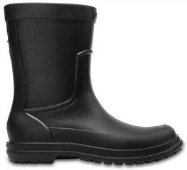 Meeste kummikud Crocs™ AllCast, must hind ja info | Meeste kummikud Crocs™ AllCast, must | kaup24.ee