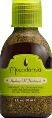 Taastav naturaalne juukseõli Macadamia Healing Oil Treatment 30 ml