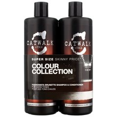 Juuksehoolduskomplekt tumedatele juustele Tigi Catwalk Colour Collection Brunette
