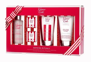 Komplekt Grace Cole Frosted Cherry & Vanilla Bathing Rituals 75 ml + 75 ml + 100 ml