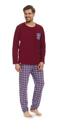 Meeste pidžaama DN Nightwear PMB.9068, punane/hall