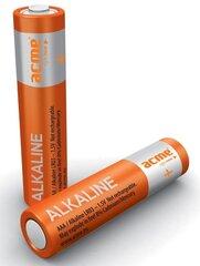 AAA suuruses Acme Alkaline patareid LR03/6 tk hind ja info | Lisatarvikud fotoaparaatidele | kaup24.ee