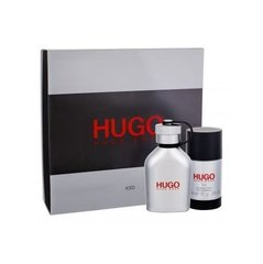Komplekt Hugo Boss Hugo Iced: EDT meestele 75 ml + pulkdeodorant 75 ml