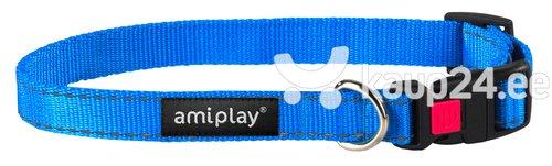 Kaelarihm lukuga Amiplay Reflective, XL, sinine