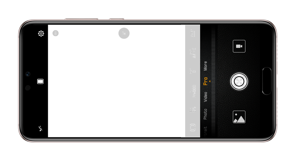 HUAWEI P20 Pro AI framing suggestion feature