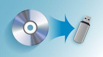 Kopijuokite muziką iš CD į USB įrenginį