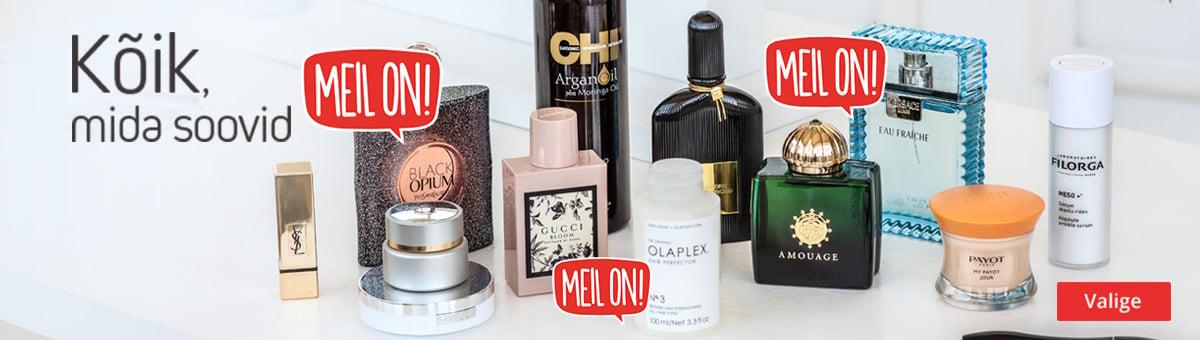 MEIL ON - parfüümid ja kosmeetika!